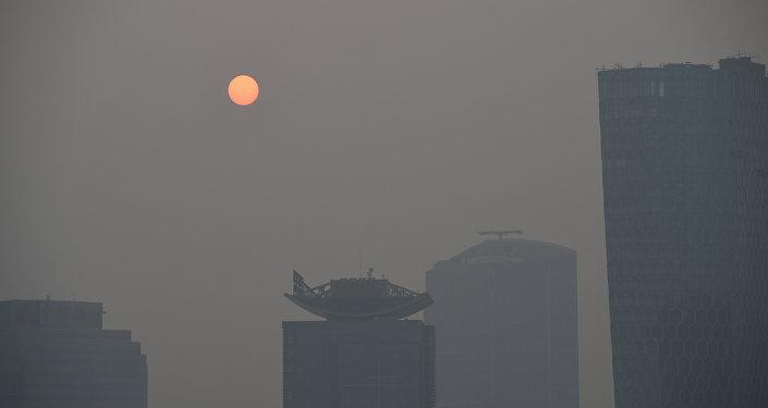 中國氣象專家:氣候變暖讓中國霧霾更嚴重