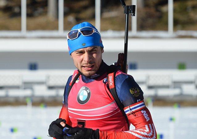 兩項滑雪運動員安東•舒普林