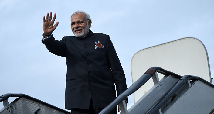克宫:印度总理莫迪将出席本年度圣彼得堡经济论坛