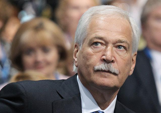 普京任命格雷茲洛夫為俄駐烏克蘭問題聯絡小組全權代表