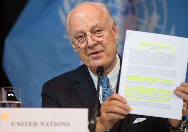 聯合國敘利亞問題特使斯塔凡∙德米斯圖拉