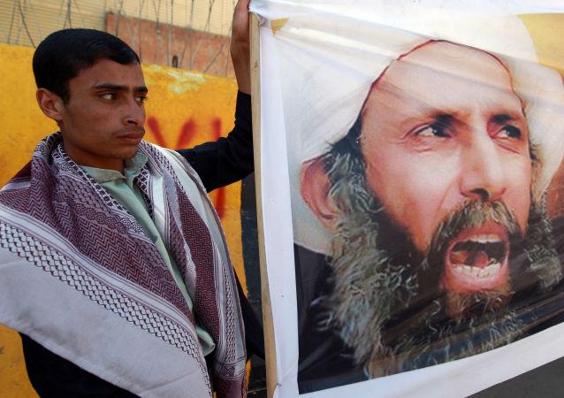 沙特阿拉伯什叶派穆斯林抗议处死伊斯兰传教士