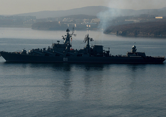 """""""瓦良格""""号巡洋舰奔赴叙利亚海岸替换""""莫斯科""""号"""