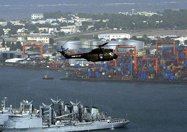 中国声明正式开放其在非洲之角吉布提的海军基地 (资料图片)