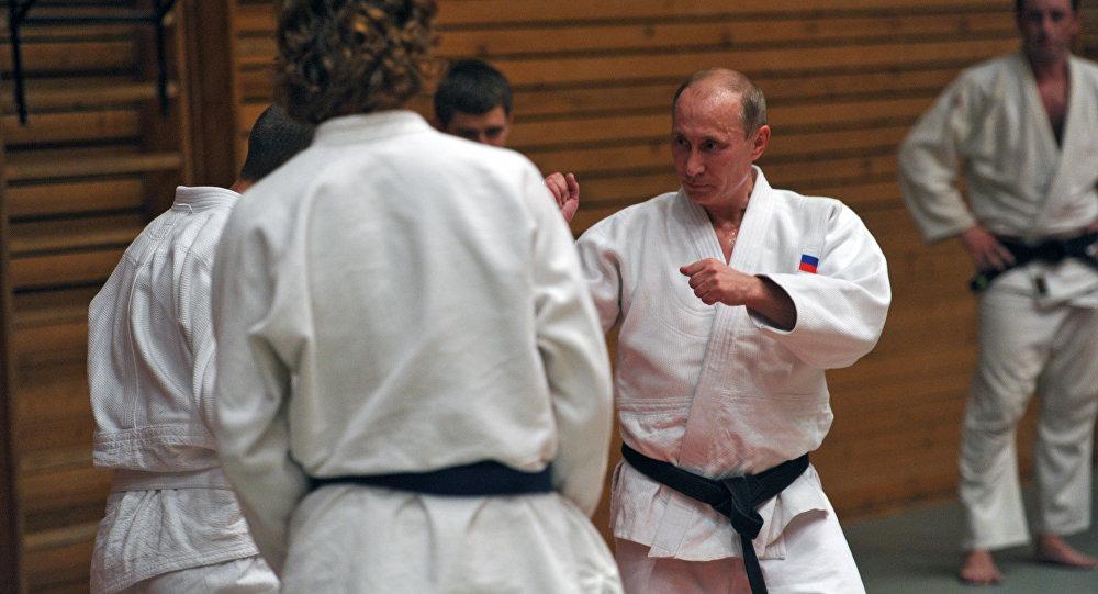 克宫:普京14日晚拟与国家柔道队一同上场训练
