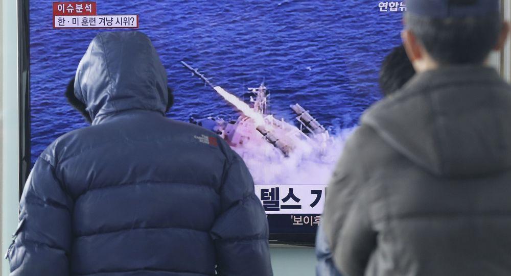朝鮮隨時可能使用潛水艇試射彈道導彈