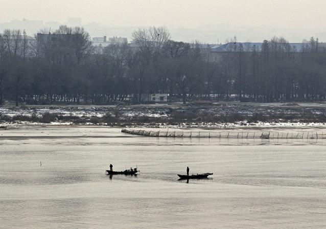 韓聯社:兩名朝鮮人在核試驗當天出逃