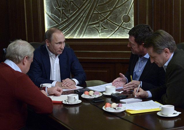 普京:俄面臨威脅時將採取一切手段捍衛國家安全