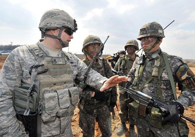 特朗普认为尚不应为美韩军演花费更多金钱