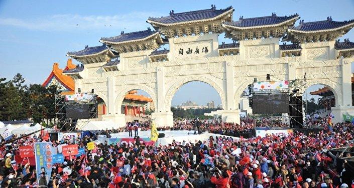 台灣大選進入決戰階段