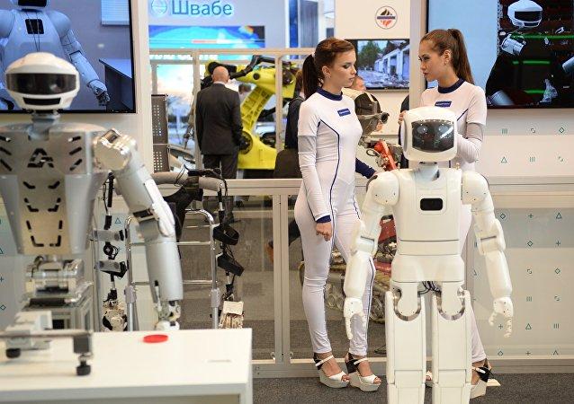 大多数俄工作者称机器人未对就业造成威胁
