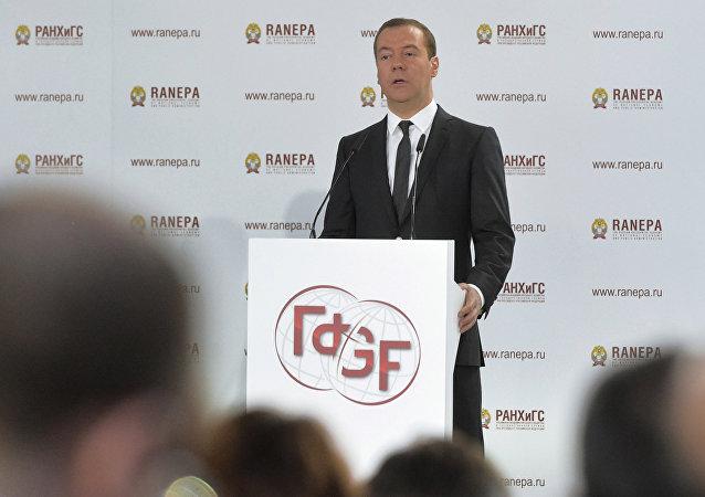 俄总理:扩大俄罗斯经济自由是国家发展的必要