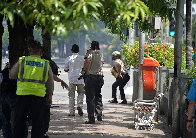印尼警方:雅加达恐袭遇难者上升至6人