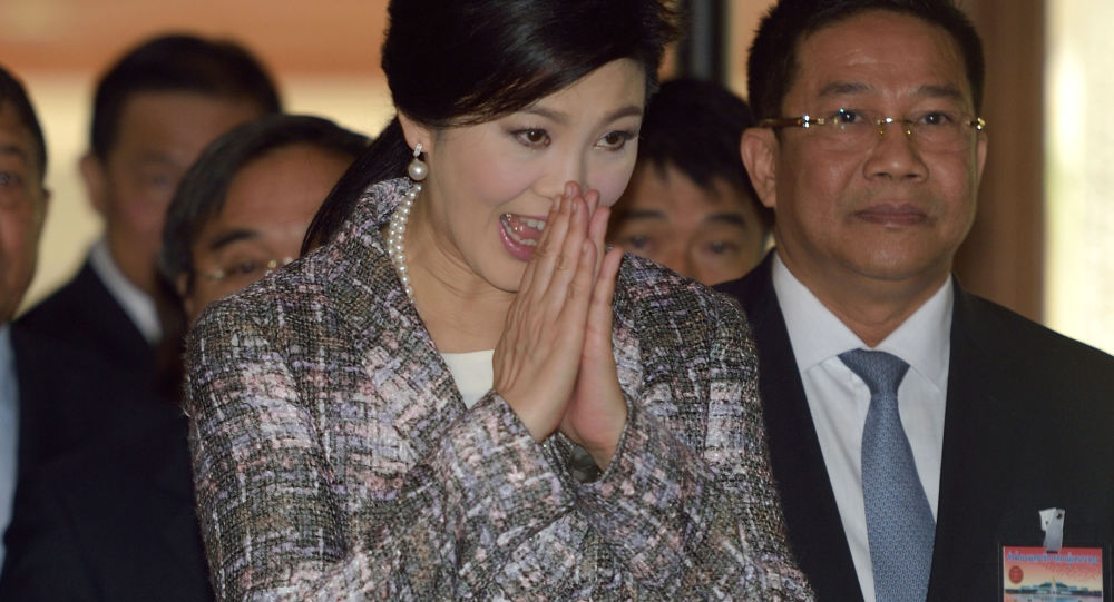 泰国前总理英拉·西那瓦
