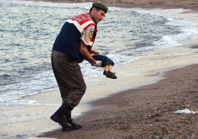 死去敘利亞男孩艾蘭•庫迪