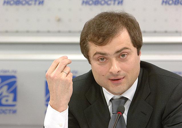 俄總統助理蘇爾科夫/資料圖片/