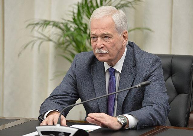 乌克兰问题明斯克谈判俄方代表格雷兹洛夫