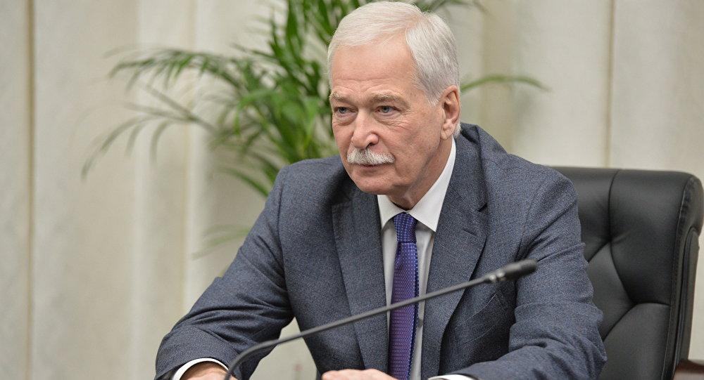 烏克蘭問題明斯克談判俄方代表格雷茲洛夫