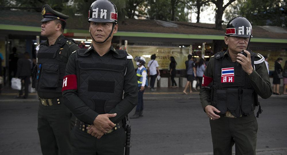 泰國警方(資料圖片)