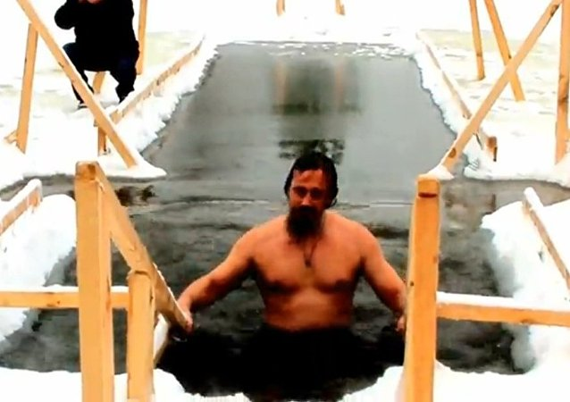 東正教信徒慶祝耶穌受洗節