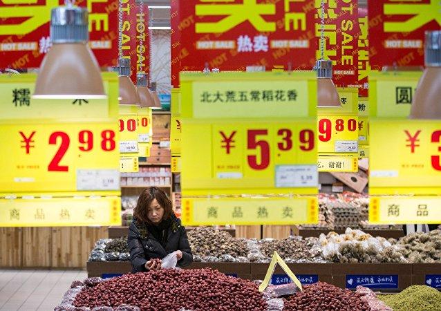中国8月通胀率达1.8%