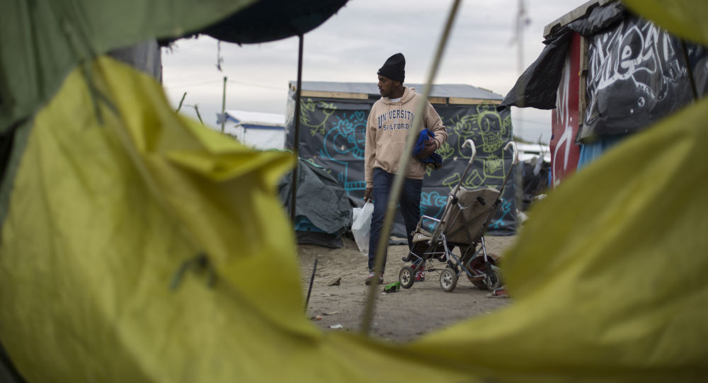加來, 法國, 難民營