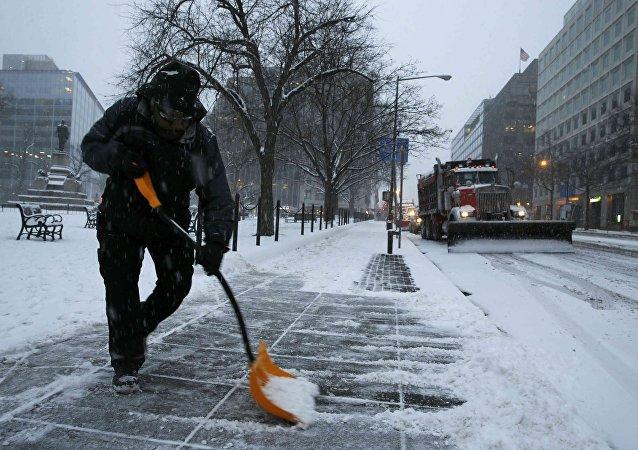 美國11個州因惡劣天氣宣佈進入緊急狀態
