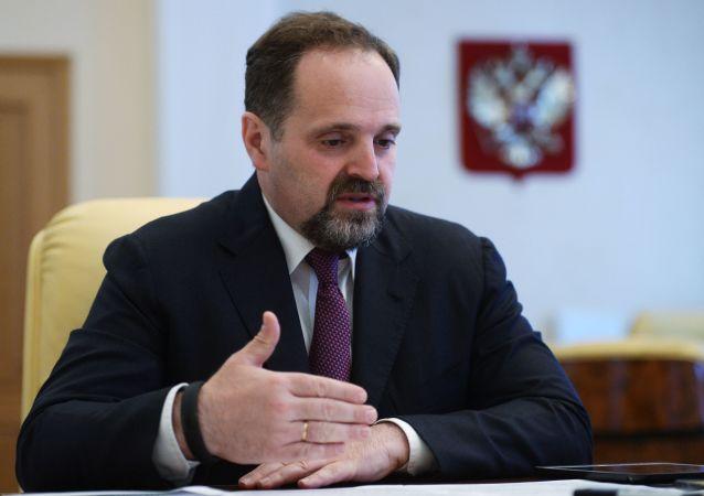 俄自然資源和生態部部長謝爾蓋·東斯科伊