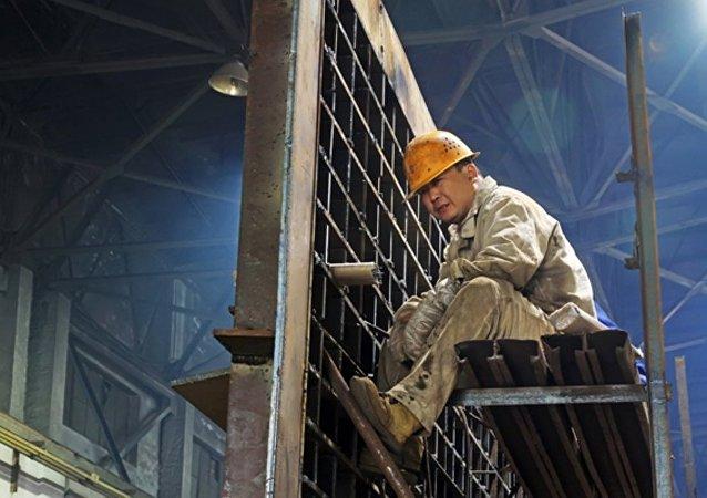 中国钢铁工厂