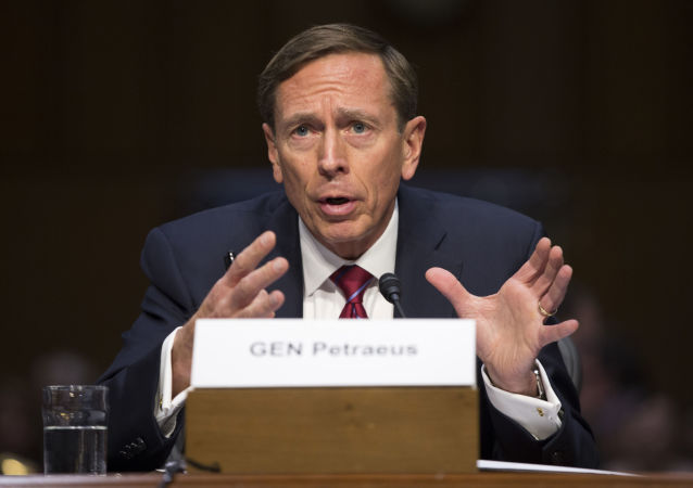 美國中情局前局長戴維·彼得雷烏斯