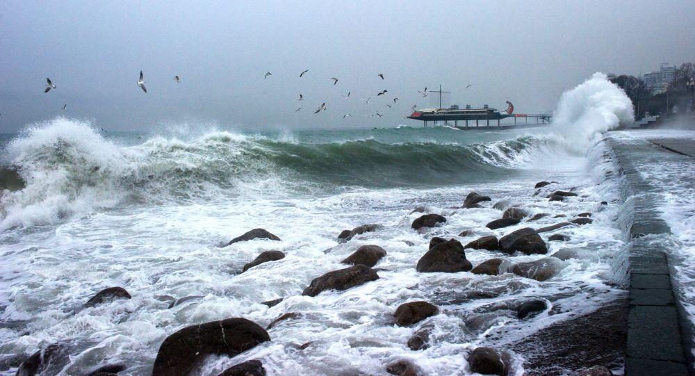 克里米亞緊急情況部:一乾貨船在黑海傾覆 1人下落不明