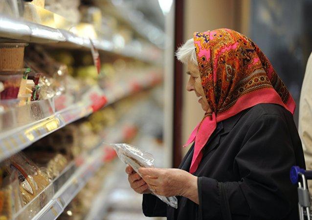 民调:俄罗斯在吃上省钱的人越来越少