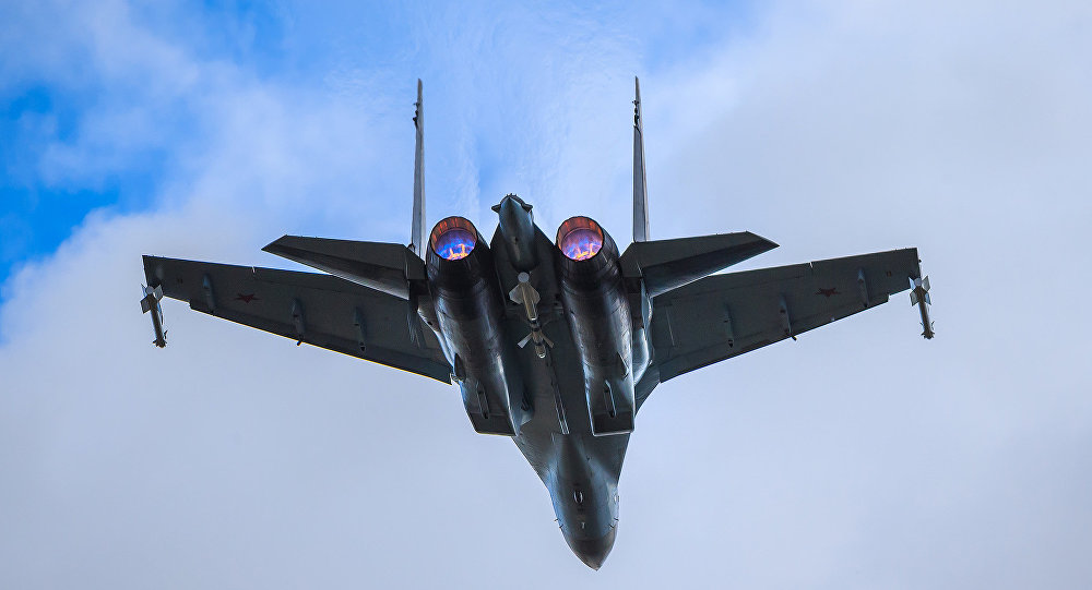 德媒:蘇-35S是世界上最危險的戰鬥機
