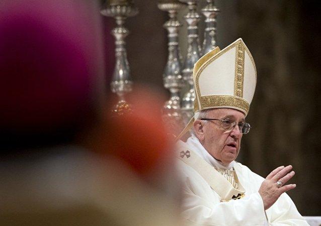 羅馬教皇呼籲停止委內瑞拉國內暴力