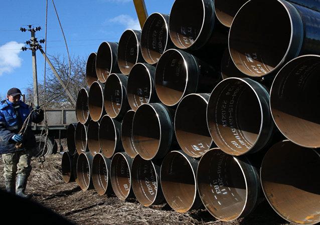 俄能源部長:「北溪-2」管道已鋪設約700公里