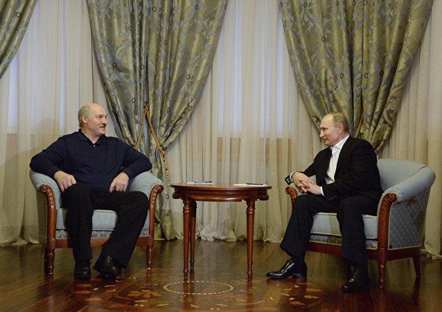 普京与卢卡申科