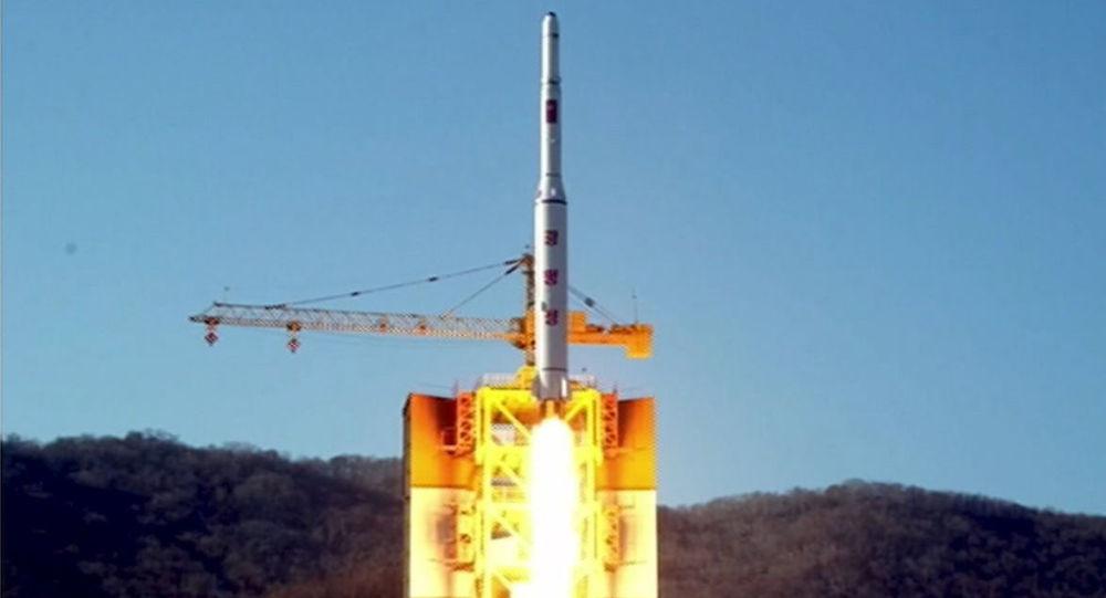 朝鲜发射了一枚弹道导弹