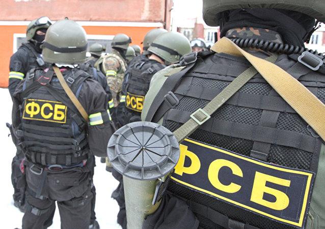 """俄联邦安全局拘留7名预谋在首都实施恐袭的""""伊斯兰国""""成员"""