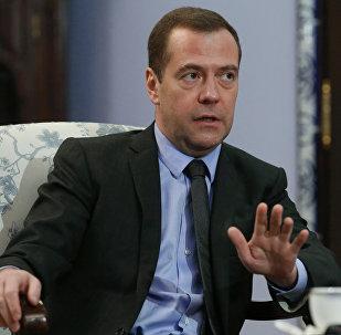俄羅斯總理德米特里·梅德韋傑夫