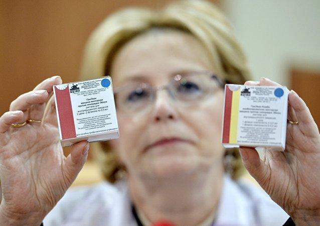 俄衛生部:抗埃博拉疫苗上周在俄獲得專利