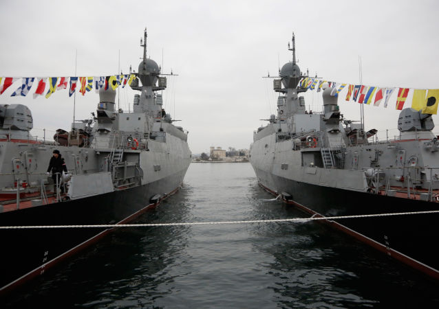 俄黑海舰队小型反潜舰艇