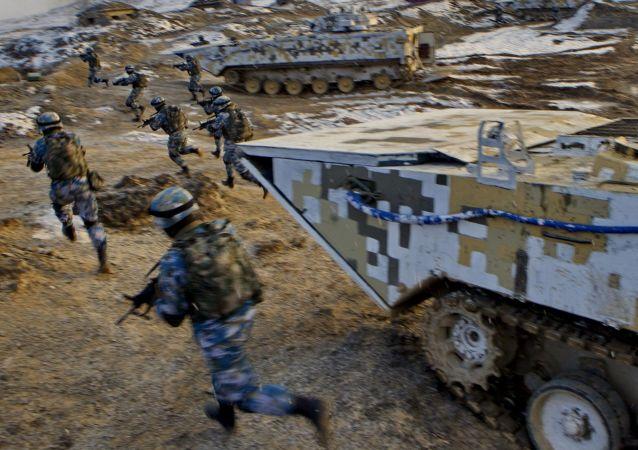 中國和尼泊爾開始史上首次聯合軍事演習
