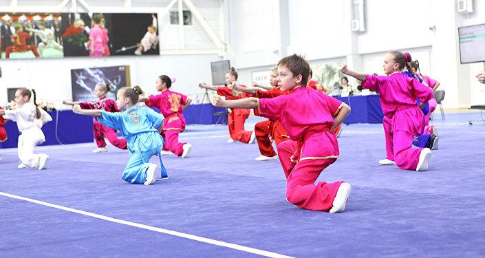在莫斯科正在舉行「莫斯科武術之星」國際比賽