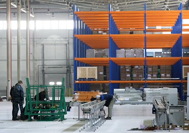 鋰電池生產工廠車間