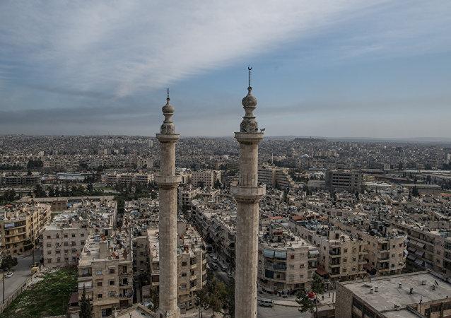 敘利亞政府軍打通阿勒頗市補給線路