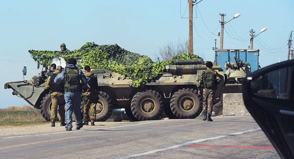 俄安全局:克里米亚侵犯边界行为越来越频繁