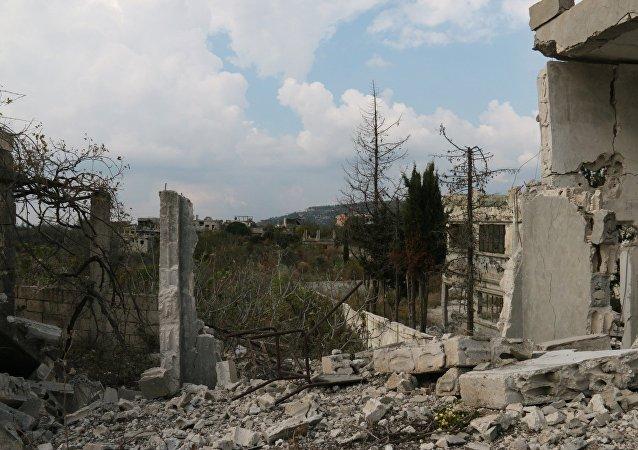 視頻:敘軍導彈迫使恐怖分子從拉塔基亞逃往伊德利卜