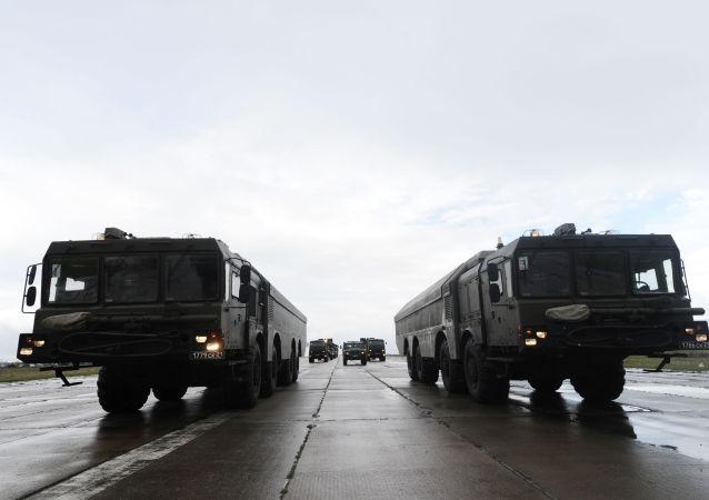 """""""棱堡""""岸防导弹系统"""
