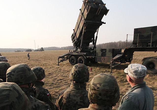 """""""爱国者""""防空导弹系统"""