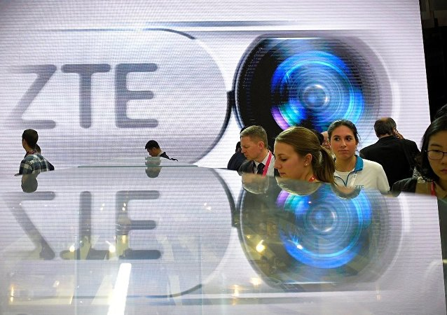 美参议院通过恢复中兴通讯销售禁令法案